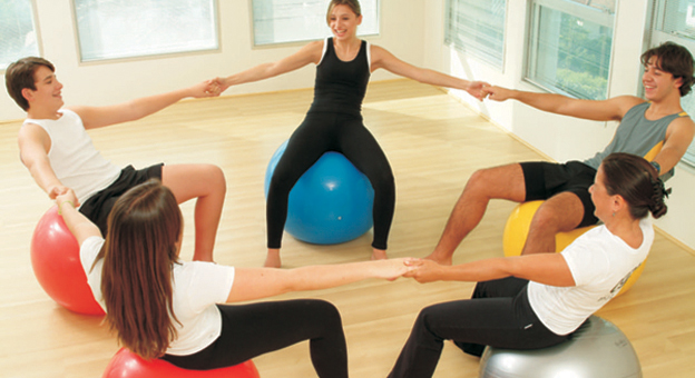 Crianças flexíveis e equilibradas