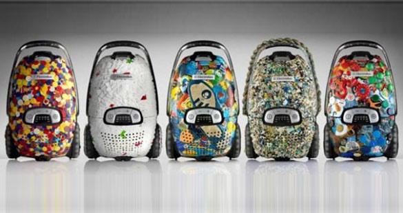 Aspiradores reciclados