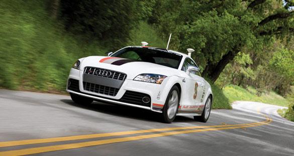 Audi sem motorista