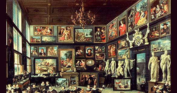 Gabinete de Arte – um novo gênero na pintura