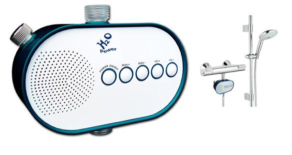 H2O Shower Power Radio