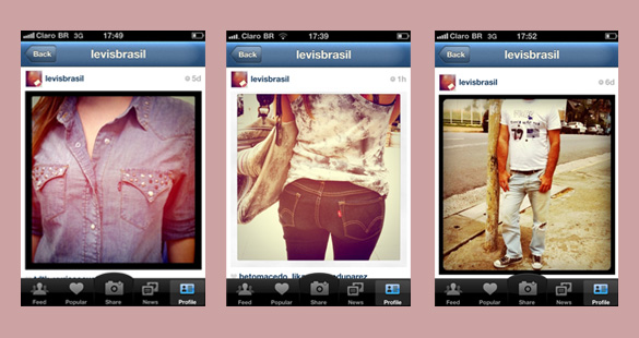 Levi's Brasil no Instagram