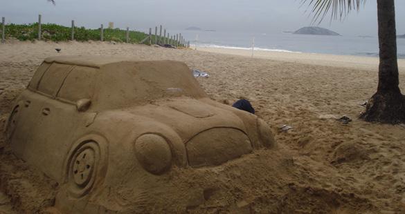 MINI invadiu sua praia