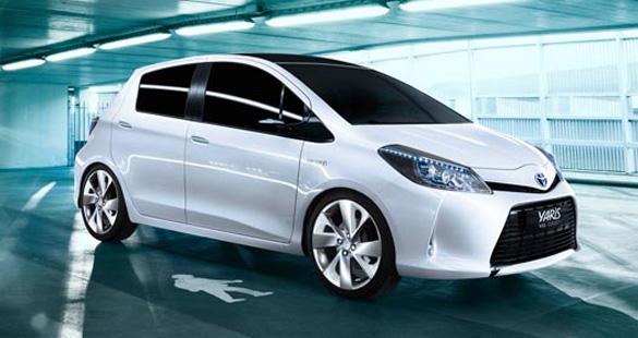 Toyota apresenta novos híbridos em Genebra
