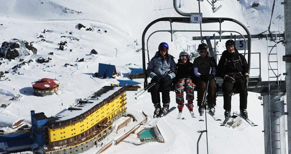 Estação de esqui Portilho