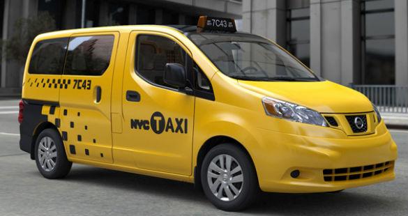 Os novos táxis de Nova York