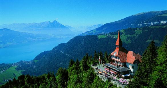 O verão na Suíça