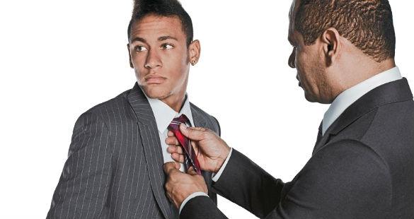 Neymar na capa da ALFA