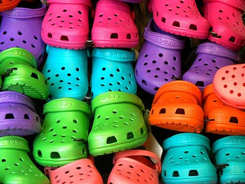 100.000 Crocs para o Japão