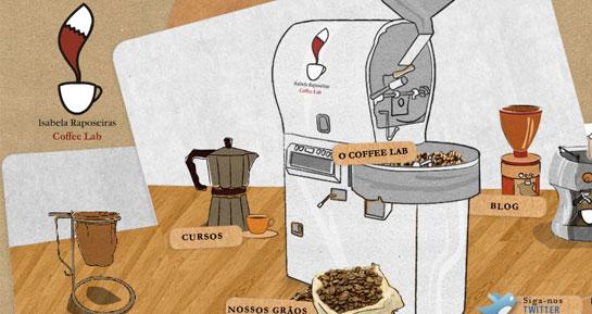O Coffee Lab de Isabela Raposeiras