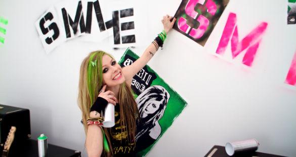 Avril Lavigne no Brasil