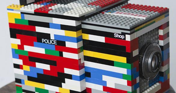 Câmera de Lego