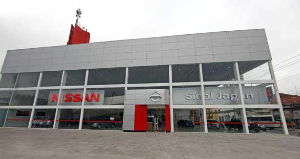 Maior concessionária da Nissan no Brasil