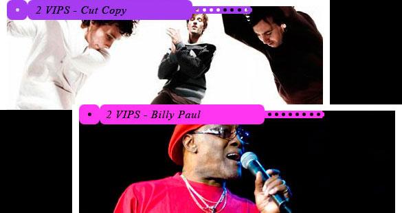 Seja VIP no show do Cut Copy e Billy Paul