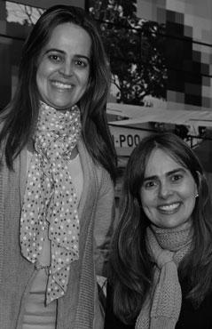 Pricilla e Daniella de Barros