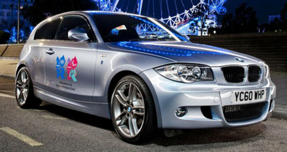 """BMW em versão """"Londres 2012"""""""