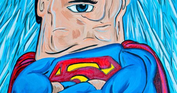 Super-heróis por Picasso