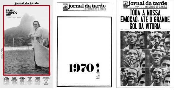 Capas históricas do JT