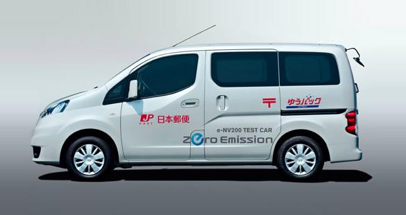 Nissan testa furgão elétrico