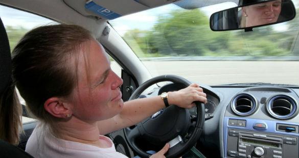 Test-drive com portadores de deficiência visual