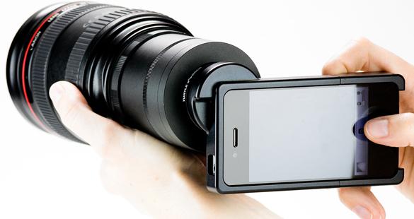 iPhone vira câmera DSLR