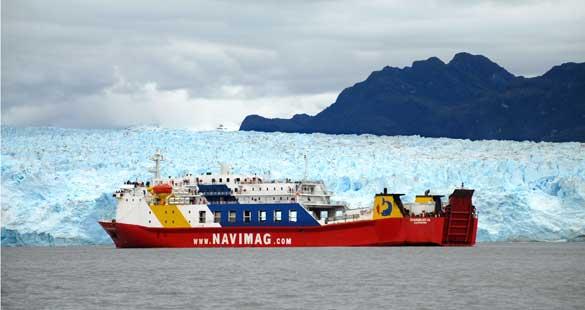Rota pelos glaciares chilenos