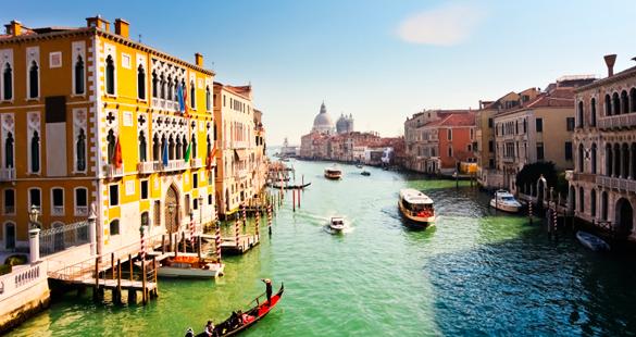 Veneza, Florença e Roma