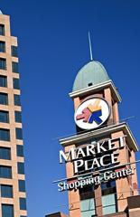 Decoração no Market Place