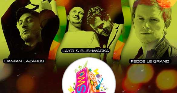 Fedde Le Grand, Layo & Bushwacka! e Damian Lazarus
