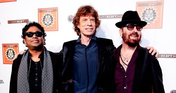 Festa da SuperHeavy, de Jagger