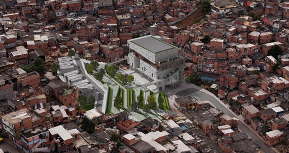 Arquitetura sustentável em Paraisópolis