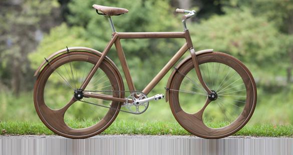 Bicicleta de Madeira