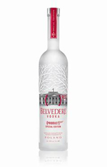 Belvedere Vodka + (RED)