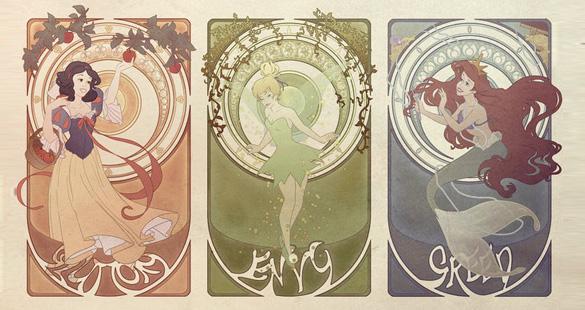 Os 7 pecados da Disney
