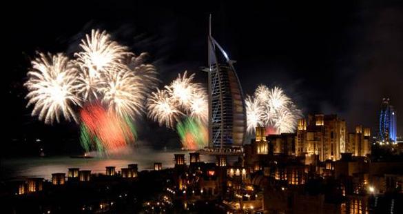 Réveillon em Dubai