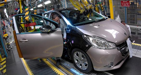 Produção do Peugeot 208