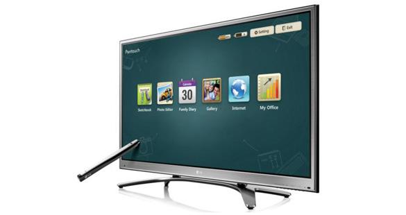 Primeira TV touchscreen do Brasil