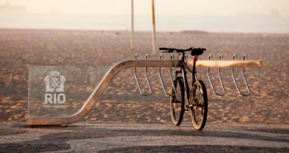 Rio ganha bicicletário na orla