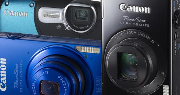 Novas Canon Powershot