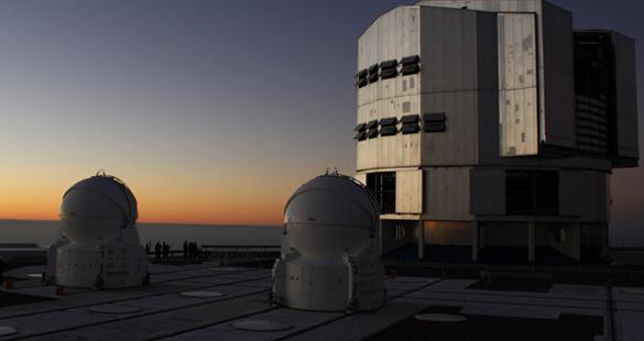 Supertelescópios do Atacama