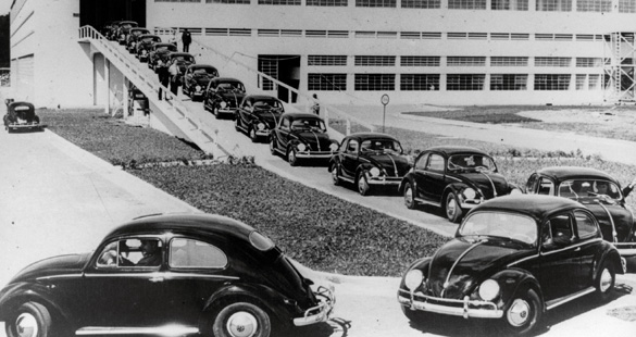 Volkswagen completa 59 anos de Brasil