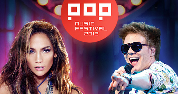 Jennifer Lopez no Pop Music Festival