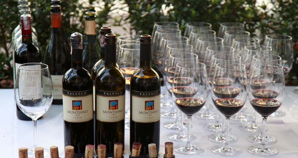 Vinhos italianos da Falesco