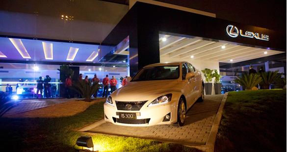 1ª concessionária Lexus do Brasil