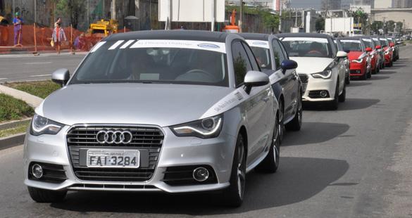 Audi confirma eficiência e economia do modelo A1