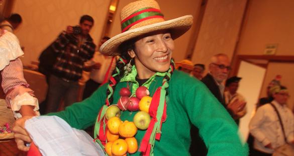 Evento gastronômico no Peru