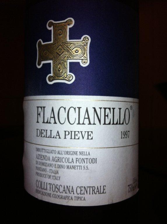 O Fontodi Flaccianello della Pieve 1997 foi prejudicado por estar turvo