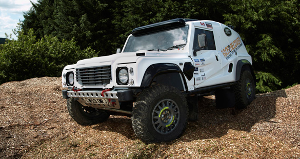 Land Rover apoia projeto Race2Recovery