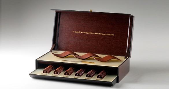 Chocolate a peso de ouro