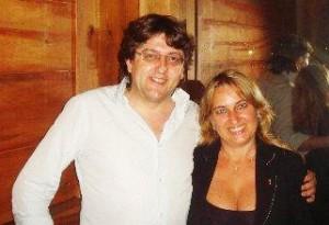 Giuseppe Bologna (Braida) e Ana Rita Zannier (Expand)
